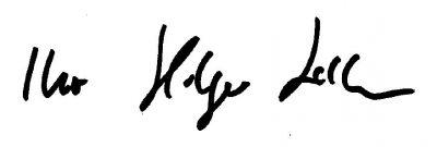 Unterschrift Holger Laschka